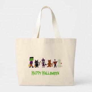 HalloweenFriends, Happy Halloween Jumbo Tote Bag
