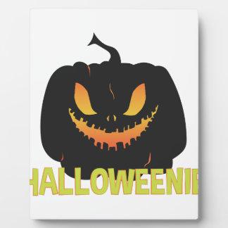 Halloweenie Plaque