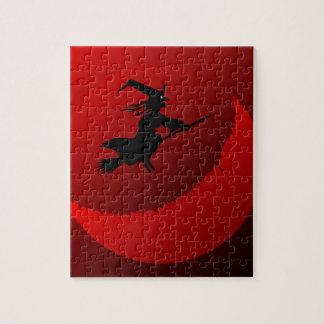 Hallowen Moon Jigsaw Puzzle