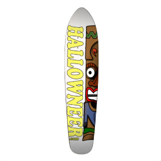 Hallowneer Tiki Ride Skate Deck
