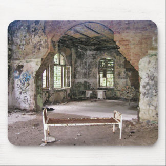 Halls and Rooms, Beelitz Hospital, Lost Places Mouse Pad