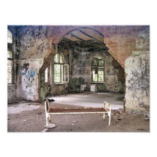 Halls and Rooms, Beelitz Hospital, Lost Places Photo Print