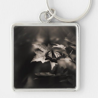 Halls of Infinity Silver-Colored Square Key Ring