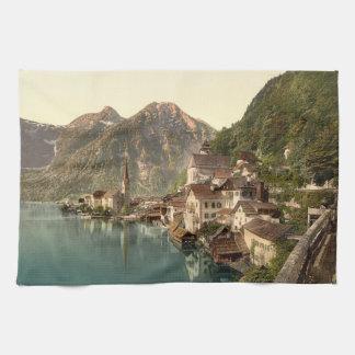 Hallstatt, Austria Tea Towel