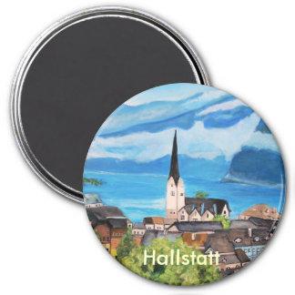 Hallstatt in Austria 7.5 Cm Round Magnet