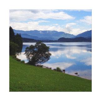 Hallstattersee lake, Alps, Austria Canvas Print