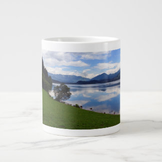 Hallstattersee lake, Alps, Austria Giant Coffee Mug