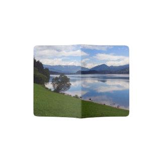 Hallstattersee lake, Alps, Austria Passport Holder