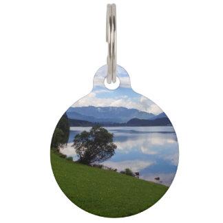 Hallstattersee lake, Alps, Austria Pet Name Tag