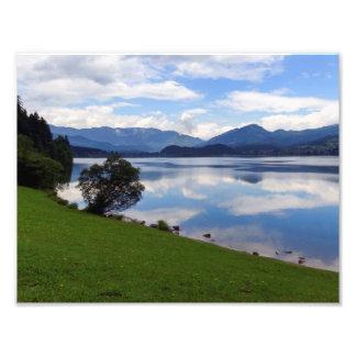 Hallstattersee lake, Alps, Austria Photo Print