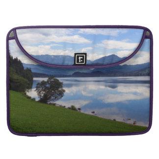 Hallstattersee lake, Alps, Austria Sleeve For MacBook Pro