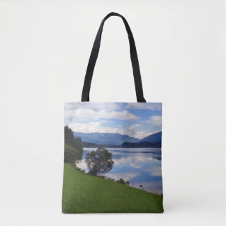 Hallstattersee lake, Alps, Austria Tote Bag
