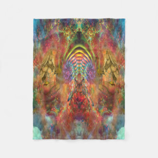 Hallway of Light Fleece Blanket