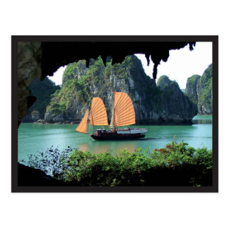 Halong Bay - Postal card