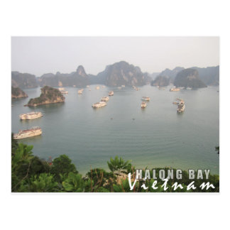 Halong Bay, Vietnam Postcard
