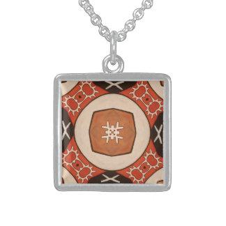 Hals bands in sterling silver with samisk design! sterling silver necklace