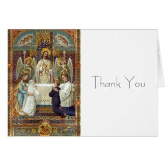 Halt in Awe Thank You Note including envelopes Card