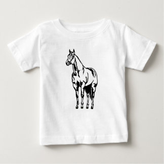 Halter American Quarter Horse Equestrian Baby T-Shirt