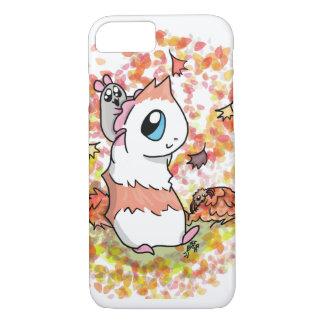 Ham and Piggy autumn iPhone 8/7 Case