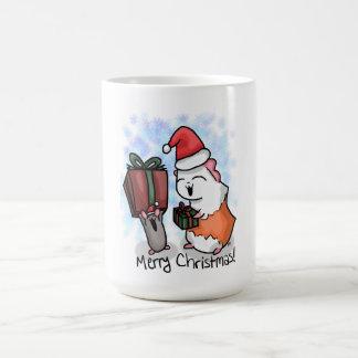 Ham and Piggy Christmas Coffee Mug