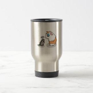 Ham and Piggy roar Travel Mug