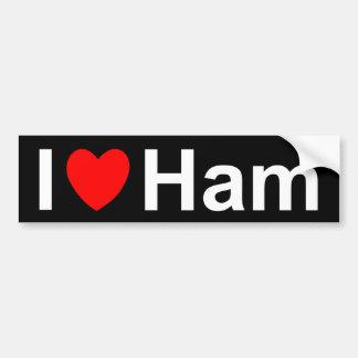 Ham Bumper Sticker