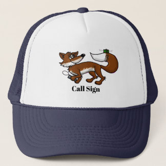 Ham Radio Fox Hunting Cap with Call Sign