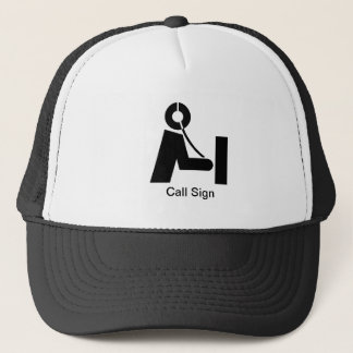 Ham Radio Icon Hat   Customize It!