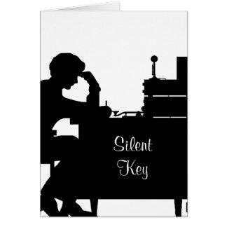 Ham Radio Silent Key Sympathy Card  Customize It.