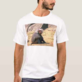 Hamadryas Baboon-adult male sitting T-Shirt