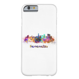 Hamamatsu skyline in watercolor barely there iPhone 6 case