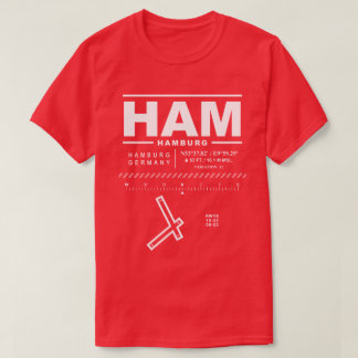 Hamburg Airport HAM T-Shirt