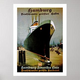 Hamburg-Amerika Line Posters