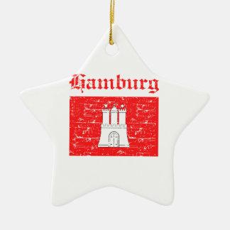 Hamburg City designs Ceramic Ornament