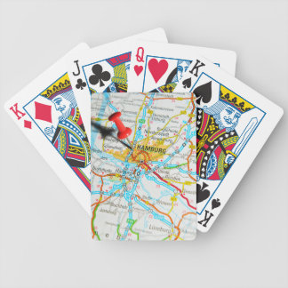 Hamburg, Germany Bicycle Playing Cards