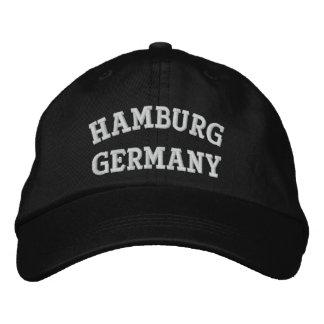 Hamburg, Germany Embroidered Hat