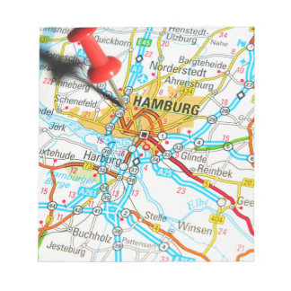 Hamburg, Germany Notepad