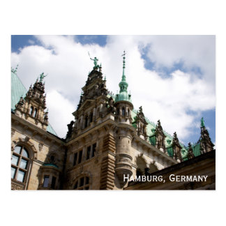 Hamburg Germany Rathaus Postcard