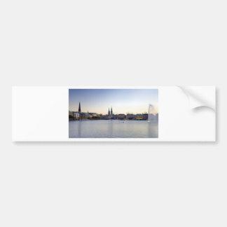 Hamburg Harbor Hafen Hamburger Deutschland Bumper Stickers