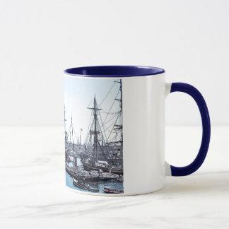 Hamburg Harbor Mug