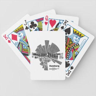 Hamburg Map Poker Deck