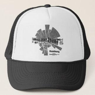 Hamburg Map Trucker Hat