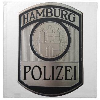 Hamburg Polizei Napkin