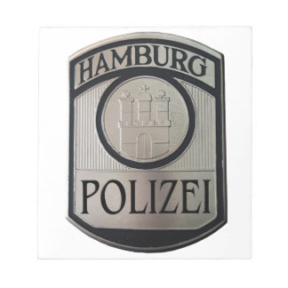 Hamburg Polizei Notepad