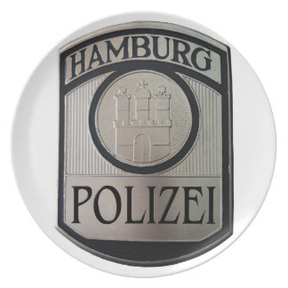 Hamburg Polizei Plates