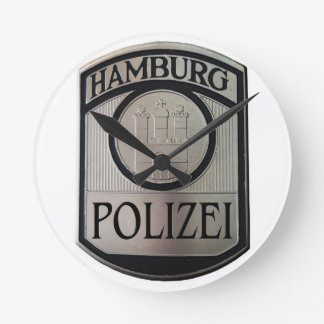 Hamburg Polizei Round Clock