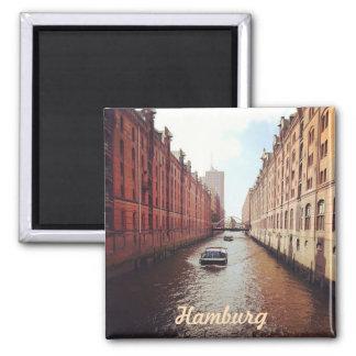 Hamburg Square Magnet