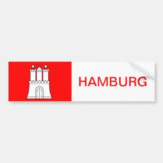 Hamburg sticker Sticker port autosticker car