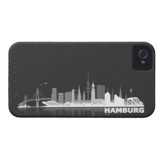 Hamburg town center of skyline Blackberry sleeve Case-Mate iPhone 4 Case