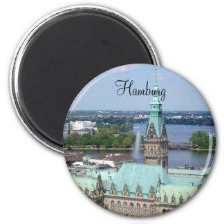 Hamburg Town Hall Magnet